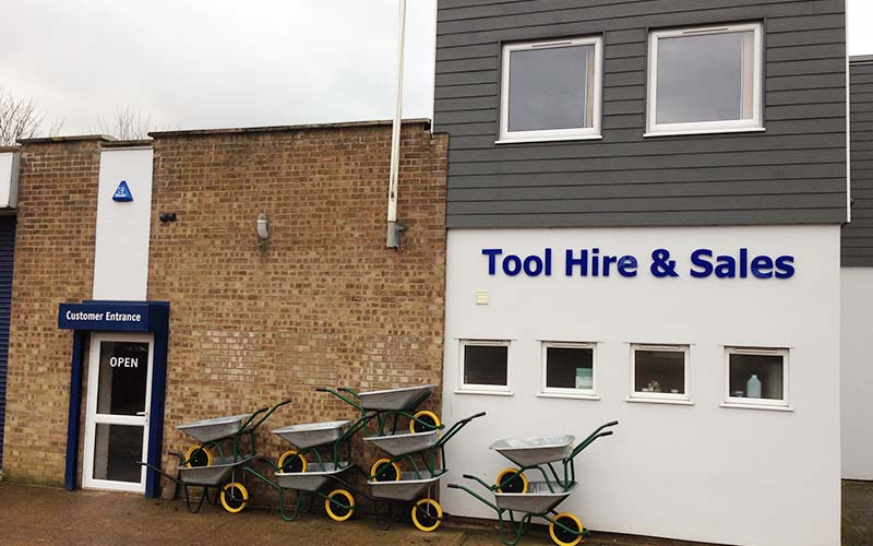 Turner Tool Hire, Sudbury, Suffolk